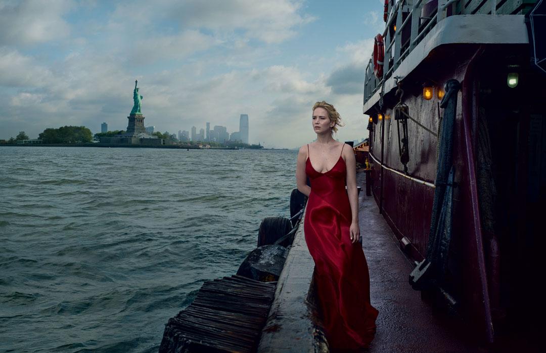 Annie-leibovitz-new-work-jennifer-lawrence-vogue-september-cover-2017 - saturday soul